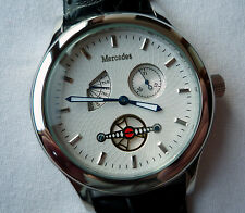 RARE Mercedes Benz Classic Retrograde Day and Date Design Made in Germany Watch