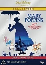 Mary Poppins (DVD, 2004, 2-Disc Set)**R4**VGC**40th Anniversary Edition