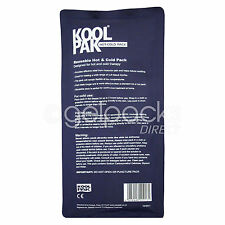 Koolpak Deluxe Reusable Hot/Cold Gel Pack Ideal For Sports Injury