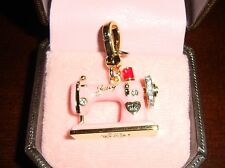 NEW JUICY COUTURE SEWING MACHINE CHARM FOR BRACELET/NECKLACE