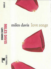 Miles Davis ‎Love Songs CASSETTE ALBUM Jazz Hard Bop Modal  US Columbia ‎CT 6585