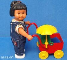 LEGO DUPLO PUPPE DOLL MARIE LISA ANNA FIGUR 16 CM MIT KINDERWAGEN