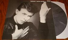 DAVID BOWIE HEROES COLORED VINYL IMPORT LP HOLLAND