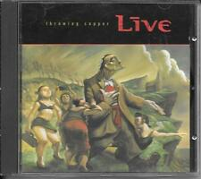 CD ALBUM 14 TITRES--LIVE--THROWING COPPER--1994