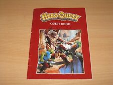 Hero Quest - Quest Book for Kellars Keep board game VGC
