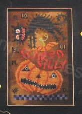 SCARED SILLY BIRDS OF A FEATHER CROSS STITCH HALLOWEEN CHART