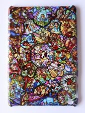 Disney Princess Alice Ariel Stained Pattern Hard Case Cover For Apple iPad mini