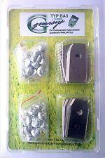 30 Messer 0,5mm +3 gratis (0,75mm) Husqvarna Automower & 30 Schrauben BA3