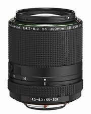 PENTAX HD DA 55-300mm F4.5-6.3 ED PLM WR RE Zoom Lens 21277