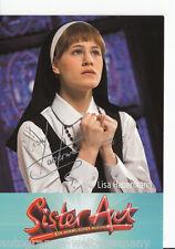 Lisa Habermann TOP AK Orig. Sign.  Sister Act +24685