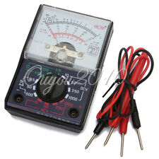 Analogue Multimeter Resistance AC DC Volts Ohm / Electrical Circuit Multi Tester