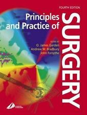Principles and Practice of Surgery by John Forsythe (2002, Paperback, Revised)