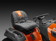 Husqvarna Black / Orange Tractor Lawn Mower Seat Cover Protector 588208701