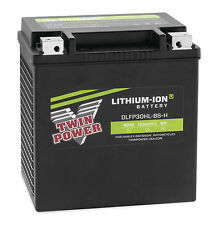 Twin Power Lithium Ion Motorcycle Battery 625 CCA Harley Davidson FLH/T 30L