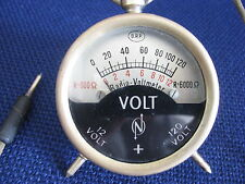Antique Voltmeter - possibly Brass Casing