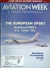2008 Aviation Week & Space Technology Magazine: Northrop/EAD's U.S. Tanker Win