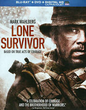 Lone Survivor (Blu-ray + DVD + Digital HD with UltraViolet), New DVD, Dan Bilzer