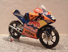 1:12 2013 RC250R KTM AJO RED BULL RACING MOTO 3 GP GIOCATTOLO DI LUIS SALOM #39