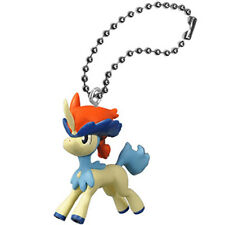 Pokemon Movie BW Keldeo Ball Key Chain swing 2012 Pocket Monster Toy