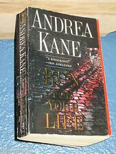 Run for Your Life by Andrea Kane *COMBINE SHIP 10 PB bOOk for $6.25*  0671036564
