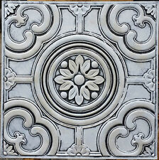PL50 vintage embossed tin PVC 3D Decoration wall ceiling tiles panels 10tile/lot