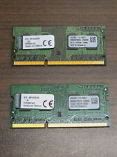 Kingston 8GB 2x4GB PC3-10600s DDR3-1333 SODIMM Laptop Memory RAM