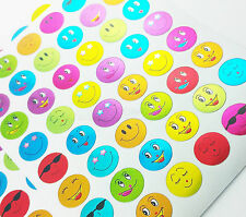 240pcs Random Children's Kids Smiley Face Emoji  Stickers School Teacher Merit