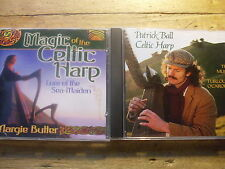 Harfe Keltisch [2 CD Alben] Margie Butler  - Magic Celtic Harp + Patrick Ball ..
