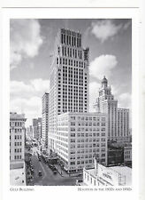 "~Post Card~""The Famous Gulf Building"" ...1929 /Houston In 1920's-30's/ (A5-3)"