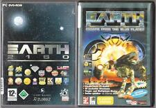 Earth 2150 esacape from the Blue panet + Earth 2160 collection jeux pc