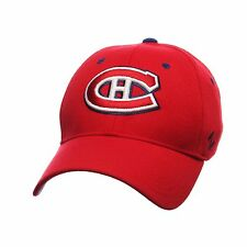 Montreal Canadiens Zephyr Breakaway Red NHL Structured Flex Fit Hat size M/L