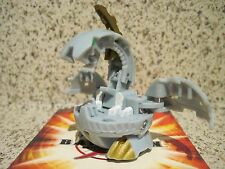 Bakugan Haos (Gray) DRAGONOID (Naga) 640G + Cards - Retired High G Power Brawler