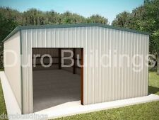 DuroBEAM Steel 25x50x12 Metal Residential Dream Shop Garage Building Kit DiRECT