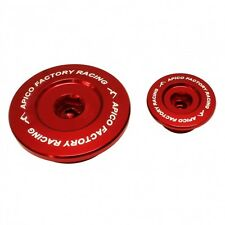 APICO ENGINE PLUG SET HONDA CRF150R 07-15, CRF250R 10-15, CRF450R/X 02-16 RED