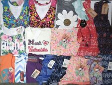 NWT Girls Summer Clothes Lot 7 7/8 Gymboree Disney Juicy Mudd Dress Outfits Set