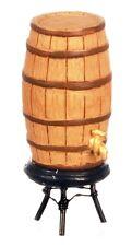 Weinfaß Weinfäßchen Probierfaß Bar Theke Tresen  Puppenhaus Puppenstube 1:12