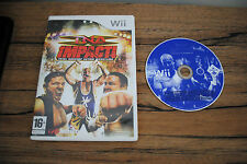 Jeu TNA IMPACT ! (Catch) pour Nintendo Wii PAL (sans notice) (CD OK)