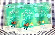 6 Refills Glade PlugIns Scented Oil HOT COCOA & MINT Winter Collection Coca