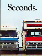 1969 1970 Ford Open Road Camper conversion Van Original Sales Brochure Folder