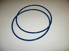 """2 BLUE MAX 1/4"""" ROUND DRIVE BELTS FOR DURACRAFT 20314 BAND SAW"""
