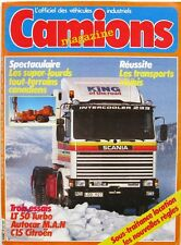 Camions Magazine n°23- 1983 -  Les Super Lourds Canandiens - Fiches collection