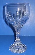 "Baccarat Massena WATER GOBLETS 7"" Tall ** SET OF 2 ** Mint Condition, Signed"