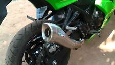 KAWASAKI NINJA Z250,Z300 LEOVINCE COBRA SLIP-ON RACE EXHAUST *PROMO*IN STOCK