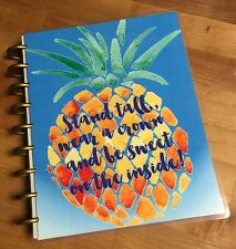 Sweet Pineapple Cover Set made for use with Happy Planner