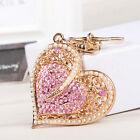New Fashion Sweet Heart Pearls Charm Pendant Crystal Purse Bag Key Chain Lover