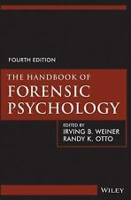 brand new The Handbook of Forensic Psychology 4th Ed. Weiner Otto