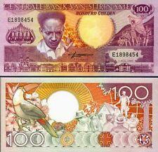 SURINAME - 100 gulden 1986 TUCANO - FDS UNC
