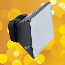 Flash Diffuser Soft Box for Nikon SB-910 SB-900 SB-800 SB-600 Canon 600EX-RT