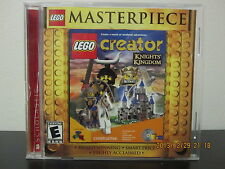 LEGO Creator: Knights' Kingdom  (PC, 2000) *Tested/Complete