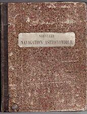 VILLARCEAU & AVED DE MAGNAC 1877 TRAITE DE NAVIGATION ASTRONOMIQUE MARITIME